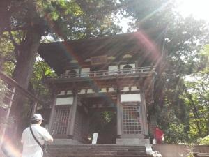 大山寺山門