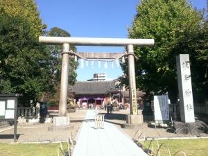 浅草神社境内