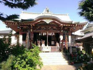 今戸神社拝殿