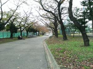 隅田宿跡(白鬚東公園)