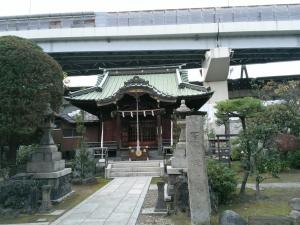 隅田川神社拝殿