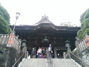 新勝寺仁王門