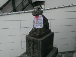 薬師堂の狛犬