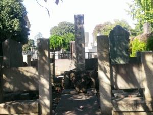 七代目市川團蔵の墓