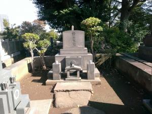 横山大観の墓