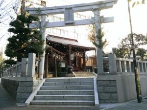 太田姫稲荷神社境内