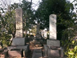 大鳥圭介の墓
