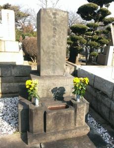 森有礼の墓