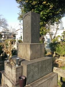 秋山徳蔵の墓