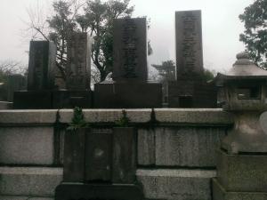 長岡外史の墓