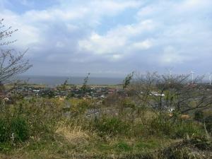 お船頭山から臨む日本海