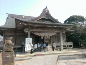 神崎神社拝殿
