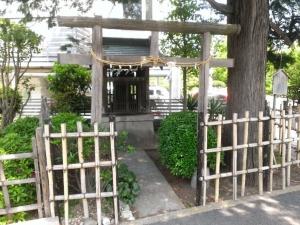 生家跡の神社