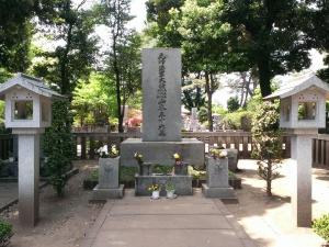 山本五十六の墓