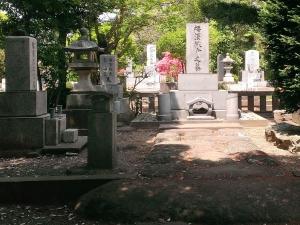 福沢家の墓所