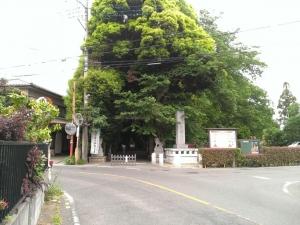 久伊豆神社入口