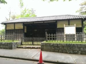 岩槻城城門