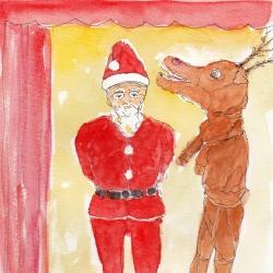いもあられの、、、クリスマスかぁ~い