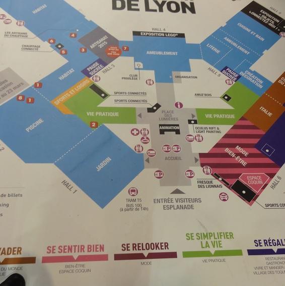 foire de Lyon map