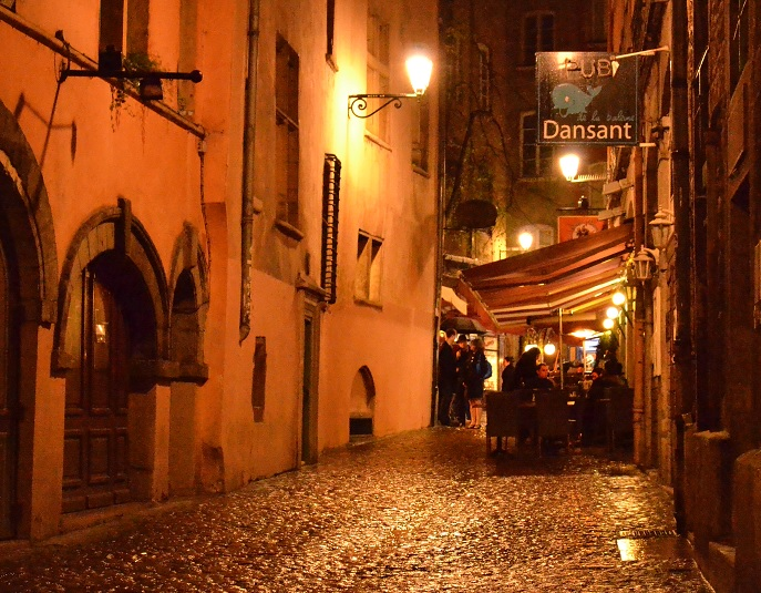 Vieux Lyon nuit 2