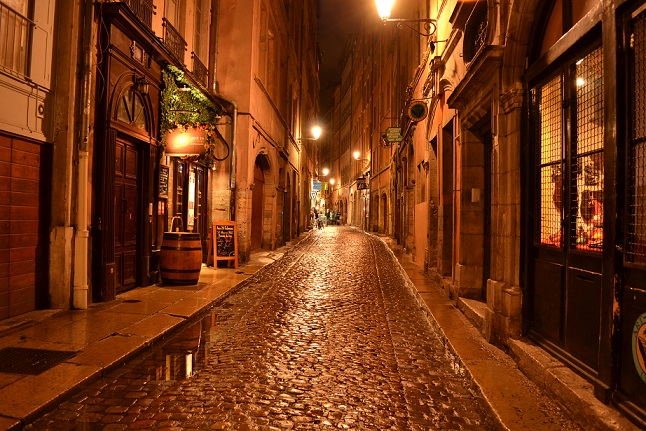 Vieux Lyon nuit 1