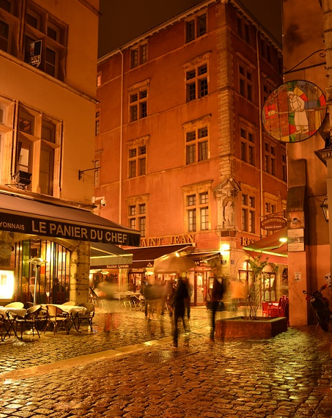 Vieux Lyon nuit 3