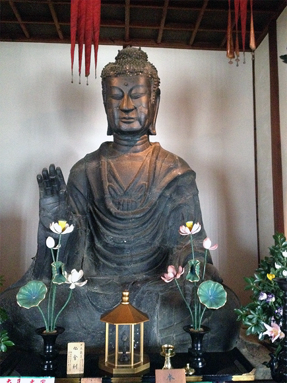 奈良 飛鳥寺 大仏
