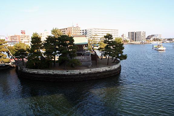 金沢八景 琵琶島