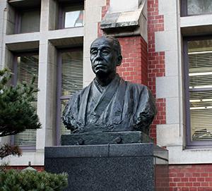 慶応義塾大学 福沢諭吉像