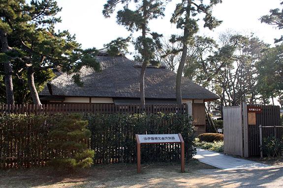 野島 伊藤博文金沢別邸