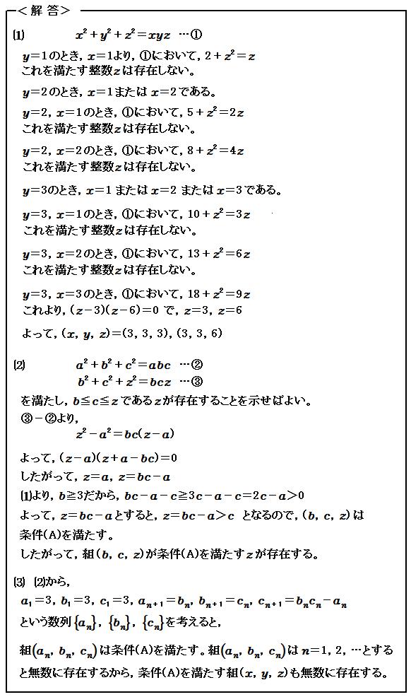 2006 東大過去問 方程式の理論 解答