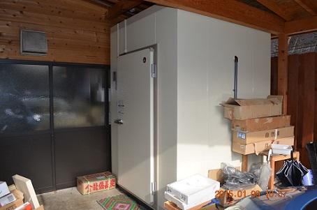 プレハブ冷凍庫