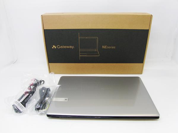▼ 美品 GateWay NE572-F14D Win8 4G/500G/リファービッシュ