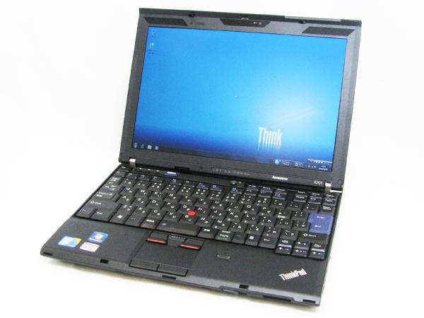 ★ 美品 Lenovo ThinkPad x201/2GB/320GB/WiMAX・無線/Win7Pro