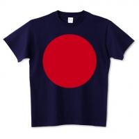 日の丸風Tシャツ