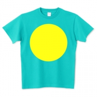 パラオ国旗風Tシャツ