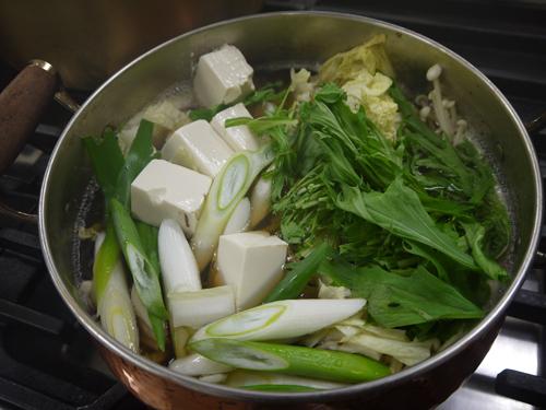 ばばちゃん料理講習会のばばちゃん鍋