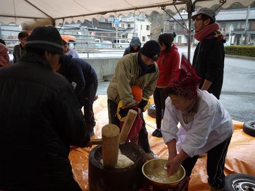 沓井餅つき2015