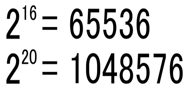 65,536行?1,048,576行?Excelはなぜ行数の最大値が中途半端なのか