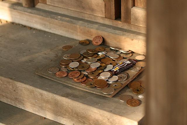 10円玉を簡単にピカピカにする方法