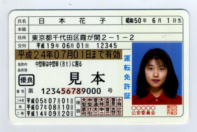下1桁の数字が大きいとヤバイ?免許証に書かれた12桁の数字の意味