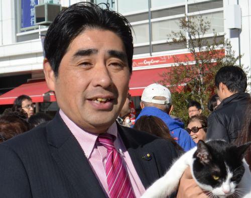 神奈川県議会議員 青山圭一先生