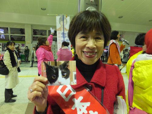 500君嶋ちか子先生 県議会議員立候補者 共産党S0950028