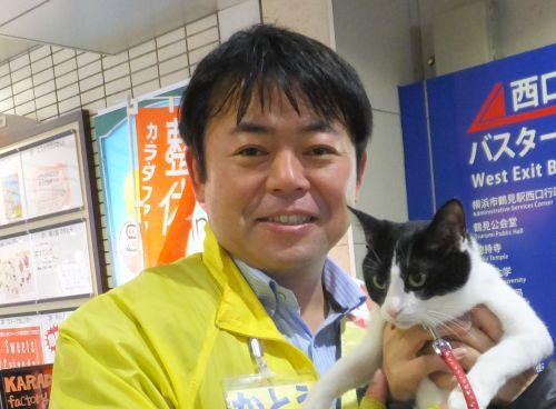 元県会議員 横浜市会議員立候補 加藤正法先生500
