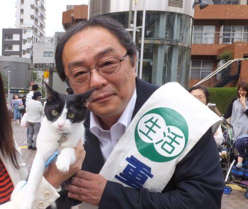 世田谷区議会議員候補 重政はるゆき先生