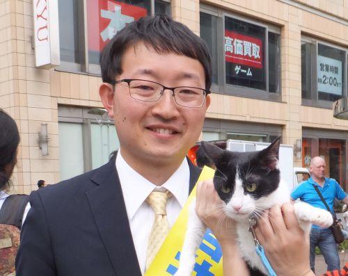 世田谷区議会議員候補 石井ゆうき先生