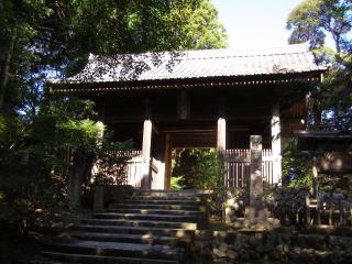 円教寺仁王門