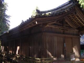円教寺護法堂拝殿