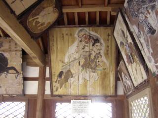 春日神社絵馬堂