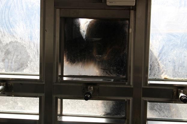 2014北海道旅行:のぼりべつクマ牧場 人のオリ3